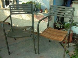 椅子(ガーデンファニチャー)