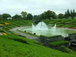 大噴水池(はままつフラワーパーク)