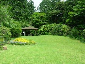 秩父宮記念公園(東屋の庭)